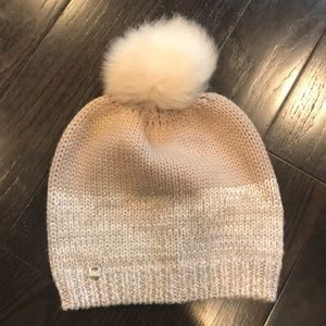 Ugg knit beanie, pom Pom winter hat